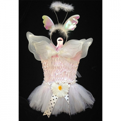 Angel Baby Tutu Dress Up 4 Piece Set