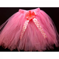 Pink Color Tulle Tutu